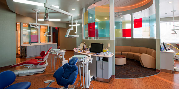 Stellar Dental interior/exam area